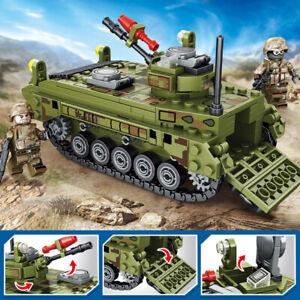 376pcs Sembo Block Type 86 Tank Model Kids Building Toys Boys Puzzle Gift