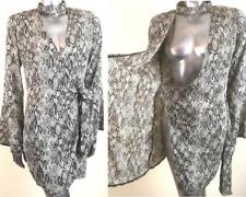 Missguided Choker Neck Wrap Dress Snake Wrap Dress BNWT 8