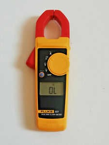 FLUKE 323 TRUE RMS DIGITAL CLAMP MULTIMETER WITHOUT LEADS