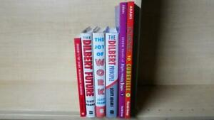 SCOTT ADAMS - LOT OF 6 BOOKS: THE DILBERT PRINCIPLE, JOY OF WORK, SEVEN YEARS +
