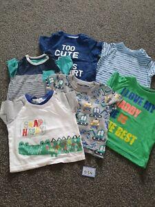 Boys 3-6 Months Short Sleeve Tops Bundle (B958)
