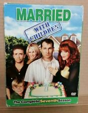 Married With Children Complete Seventh Season 3-disc DVD Box Set (2007) Used