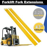 """84 x 5.8"""" Forklift Pallet Fork Extensions Forklifts and Loaders Truck On Clamp"""