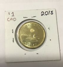 2018 Canadian 1 Dollar Coin