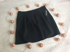 BRAND NEW RIVERISLAND Black Pleated Mini Skirt WITH TAG Size 10 12 14 (RRP £25)