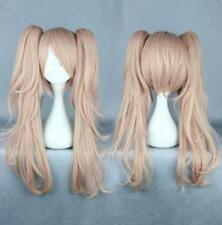 Synthetic Danganronpa Enoshima Junko 65cm Two Ponytails Anime Women Cosplay Wig