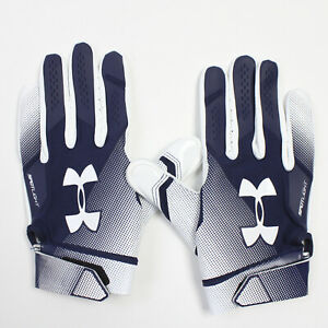 Under Armour Gloves - Receiver Men's Navy/White New with Tags