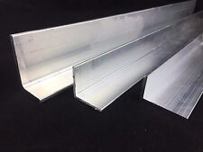 Aluminium Extruded Angle Various Sizes Thickness 2 - 6 mm / 500mm - 5000mm LONG