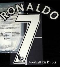 Manchester United Ronaldo 7 Name/Number Set Football Shirt 07-13 Sporting ID