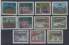 Germany 1954 Bundespost Berlin Buildings and Monuments11 VALUES ALL MNH SEE SCAN