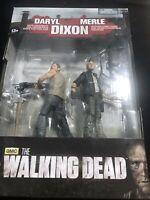 The Walking Dead Series 4 Daryl & Merle Dixon 2 Figures McFarlane 2013 NIB NWT
