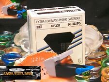 ♫ CELLULE MM PHILIPS GP 331 EXTRA LOW MASS PHONO CARTRIDGE STYLET ELLIPTIQUE ♫