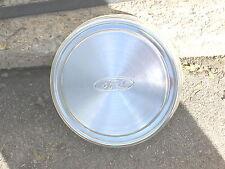 "VINTAGE Ford Aluminum ""Dog Dish"" Truck Van Hubcap Hub Cap Excellent Condition"