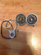 2 Smiths 120 mph Black Face Speedometers, SSM5007/02A