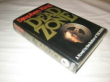 SCARCE ! The Dead Zone * SIGNED * Stephen King 1st / 1st FIRST DW 1979 VG/VG