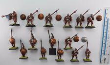 15 pueblos libres de plástico pikemen Imperio Ejército Lanceros pintado warhammer 1990s 56