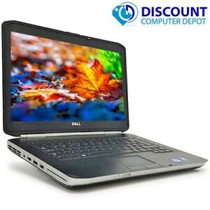 "Dell Latitude 14"" Laptop Computer Intel Core i5 8GB Ram 320GB Windows 10 WIFI"