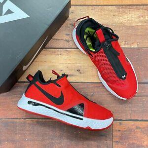 Nike Men's PG 4 TB University Red Basketball Shoes