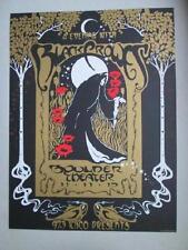 THE BLACK CROWES BOULDER 2013 ORIGINAL CONCERT POSTER BIFFLE SILKSCREEN