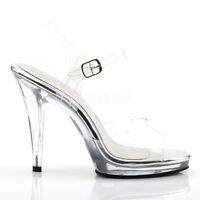 BRAND NEW BODYBUILDING BIKINI FIGURE COMPETITION Schuhe PLEASER Schuhe COMPETITION CLEAR ... 529b8c