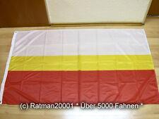 Fahnen Flagge Kleinpolen Woiwodschaft Polen Digitaldruck - 90 x 150 cm