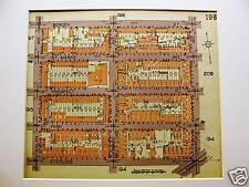 Brooklyn Map 1929 Bedford Bergen Ralph Saratoga Matted