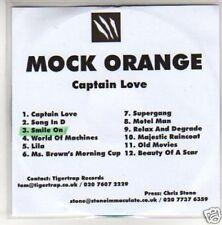 (G707) Mock Orange, Captain Love - DJ CD