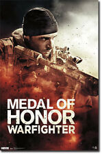 2012 MEDAL OF HONOR WARFIGHTER KEY ART VIDEO GAME POSTER 22x34 FREE SHIPPING