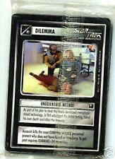 STAR TREK CCG : OFFICIAL TOURNAMENT SEALED DECK 20-CARD SET