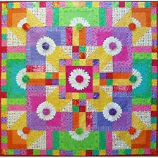 Daisy Day Z BloomZ Blooms Floral Wall Quilt Pattern
