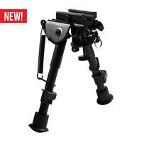 Tactical Adjustable Compact Rifle Bipod Fits Weaver Picatinny Rails