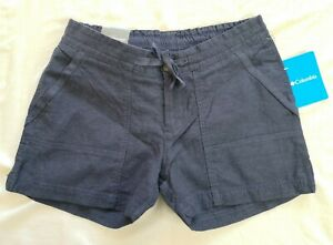 Columbia Women's Dark Blue Nocturnal Summer Time Shorts Size XS New With Tags