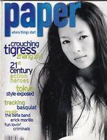 Paper Magazine Crouching Tigress Zhang Ziyi August 2001 082719nonr