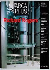 L'ARCAPLUS 18 MONOGRAPHIES ON ARCHITECTURE : RICHARD ROGERS 1998 LONDON NANTES