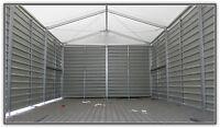 Lagerzelt Lagerhalle Reifenlager Kleinlager 6x12m / Trapezblechhalle