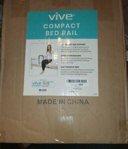 Vive Compact Bed Rail Secure Bedside Support LVA2009SLV