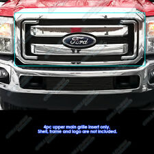 Fits 2011-2016 Ford F250/F350 SD XLT/Lariat/King Ranch Black Billet Grille