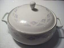 Vintage Rosental Fine China Floral Casserole Covered Bowl Serving Dish @ cLOSeT
