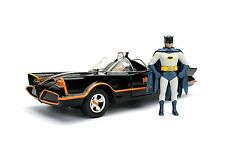 1966 Classic TV Series 1966 Batmobile with Diecast Batman and Plastic Robin The