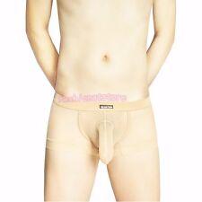 Mens Penis Sheath/Cock Sleeve Mesh Boxer Briefs/Trunks Underwear Lot M/L/XL/XXL