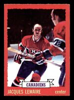 JACQUES LEMAIRE 73-74 O-PEE-CHEE 1973-74 NO 56 EX+  18893