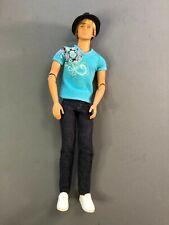 2009 Fashionista HOTTIE Ken doll Articulated 100+ poses w/ hat Barbie boyfriend