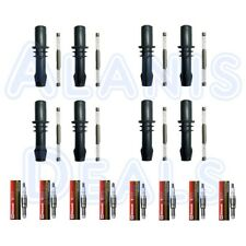Motorcraft Spark Plugs SP546 PZH14F + Ignition Coil Boot Set (8) For Ford 04-10