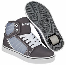 Heelys Uptown Wheeled Roller Shoe - Black / Charcoal / White  + Free DVD