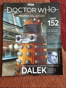 Dr Who Figurine Collection 152 Scientist Dalek Magazine Only