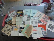 0.4kg Anciens Catalogues Poule Lapin Volaille Poulailler Clapier Couveuse +-1930