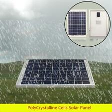 10W 12V PolyCrystalline Cells Solar Panel Poly Power Generator Battery Charger