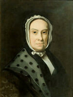 Oil painting john singleton copley - mrs. ebenezer storer (mary edwards) canvas