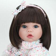 22'' Reborn Baby Dolls Lifelike Newborn Silicone Vinyl Toddler Handmade Girls