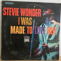 STEVIE  WONDER         LP     I WAS MADE  TO  LOVE  HER